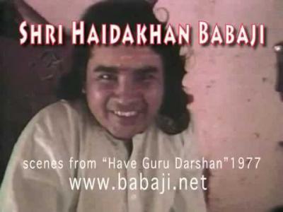 Darshan Babaji 1977
