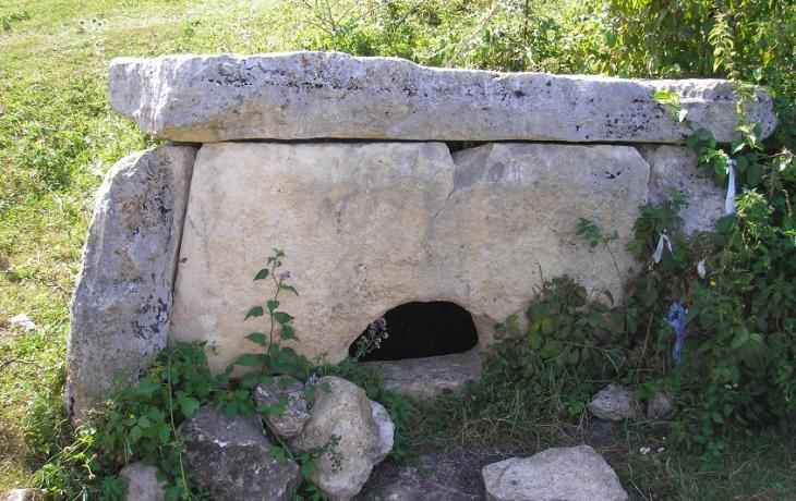 Campaign in the city of Scythian dolmens in the foothills of the Caucasus.