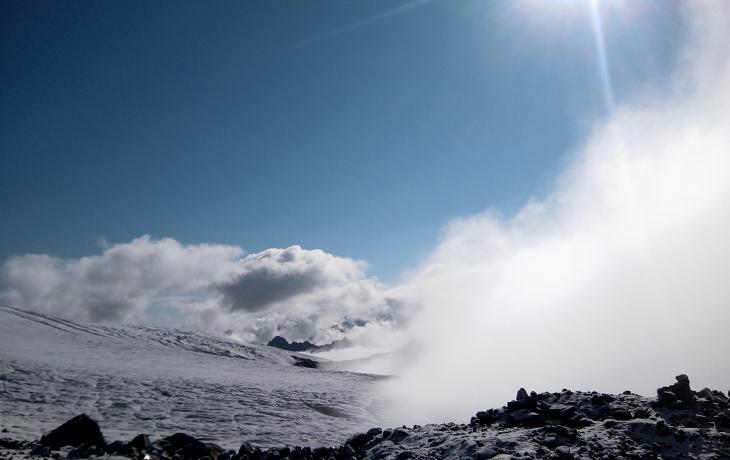 Mount Elbrus and Baksai Valley