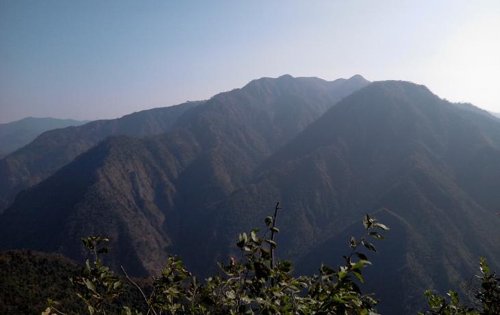 Lesser Kailash - Himalayas. India Hairakhan (Haidakhan)